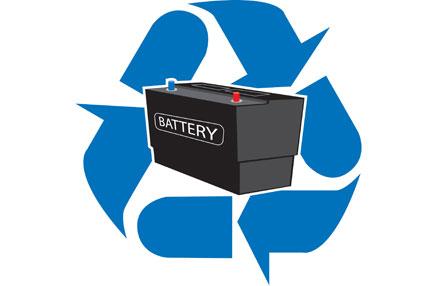 Recycling autobatterien